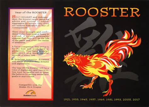 the chinese astrology chinese horoscope signs the rooster