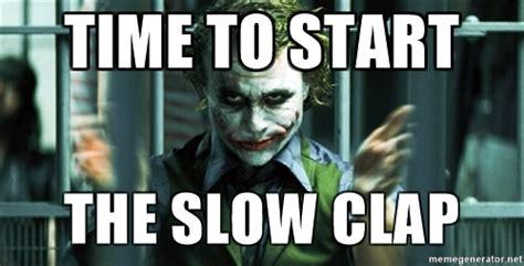 Slow Clap Meme - slow clap meme pictures to pin on pinterest pinsdaddy