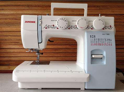 Mesin Jahit Portable Janome J3 24 Jual Janome 7388 Mesin Jahit Portable Janome Ns7388