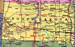 Usa Map South Dakota by South Dakota Map