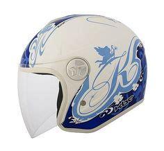 Helm Kbc V Zero Black Blue White motorcycles on motorcycle helmets helmets and motorcycle