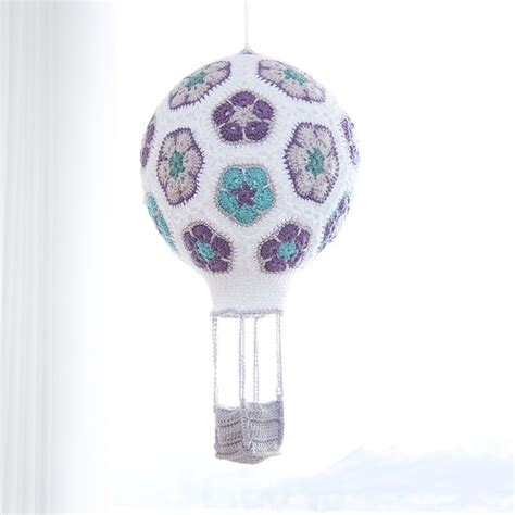 pattern air balloon i made a crochet african flower hot air balloon here s a