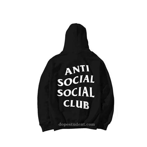 Anti Social Social Club Hoodie Jacket Assc Hoodiejacket anti social social club assc hoodie dopestudent
