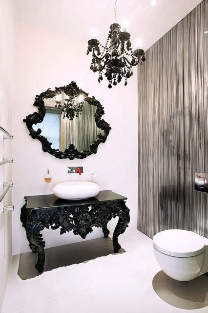 captivating gothic bathroom designs  dramatic ambience
