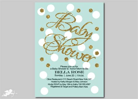 baby shower invitation template 26 free psd vector eps