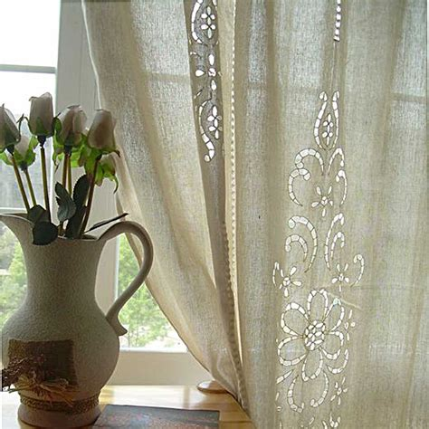 crocheted curtains crochet curtain