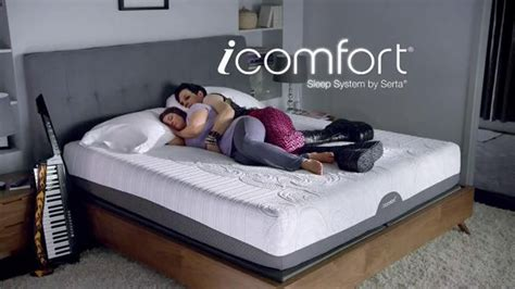 icomfort commercial actress serta icomfort sleep system tv spot 80s style ispot tv