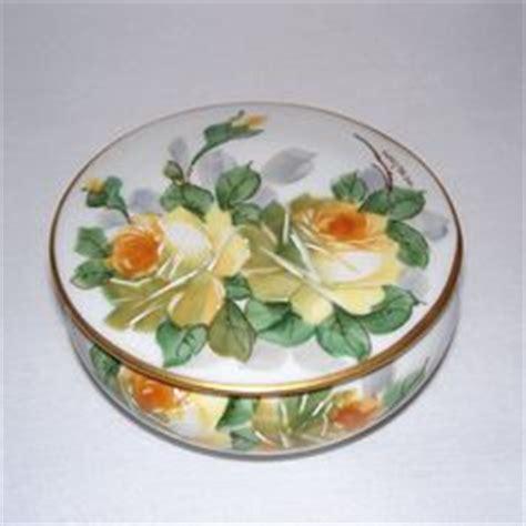 vintage atapco brown floral design yellow paint enameled 1000 images about porcelain art on pinterest ruby lane
