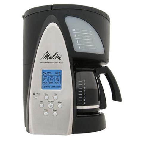 Melitta Me1msb Smart Mill Brew 10 Cup Programmable Coffeemaker by 17 Best Melitta Coffee Maker Images On Coffee