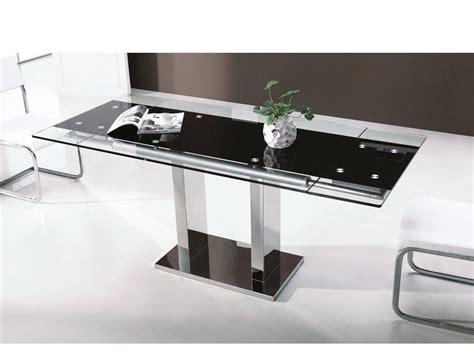 mesa comedor cristal extensible mesa de comedor de cristal templado extensible 120 180
