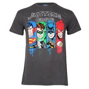Hoodie Justice League Fightmerch dc comics s justice league t shirt charcoal merchandise zavvi