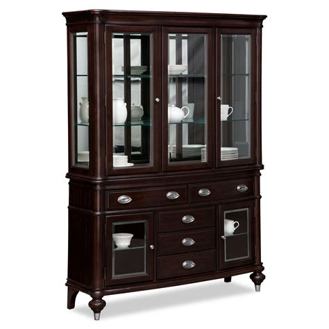 dining buffets and cabinets esquire buffet and hutch cherry american signature