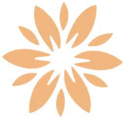 Fab flower stencil 7 for painting contemporary wall stencils by