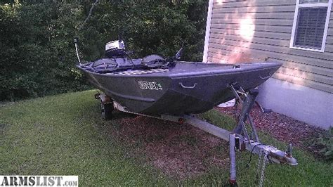 used wide jon boats for sale armslist for sale 16ft triple wide jon boat