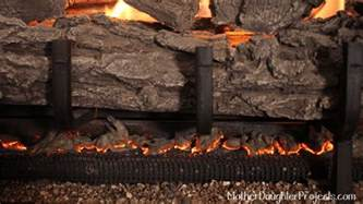 glowing embers for fireplace projects