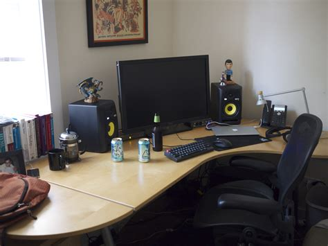 office desk setup ars staffers exposed our home office setups ars technica