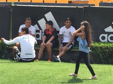hijos del nilo domingo familiar en el entrenamiento del equipo los hijos de juninho torres nilo gringo