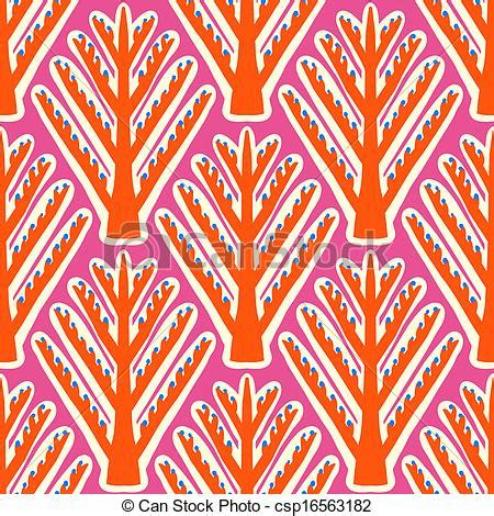 vector of ikat, vector ethnic pattern with kazakh motifs