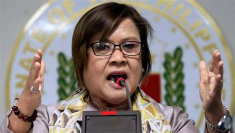 the leader i want leila de limas to fix list for 2016 top critic of philippine leader lauds policemen over cash