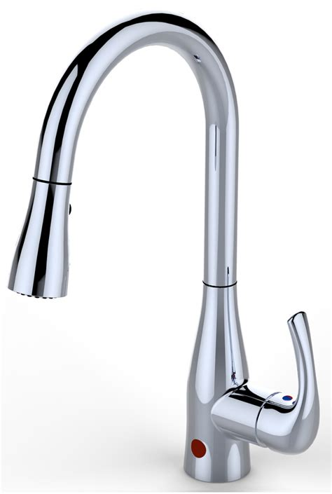 Motion Kitchen Faucet Bio Bidet Up7000 Single Handle Pullout Flow Motion Sensor Kitchen Faucet Up7000cp Up7000bn
