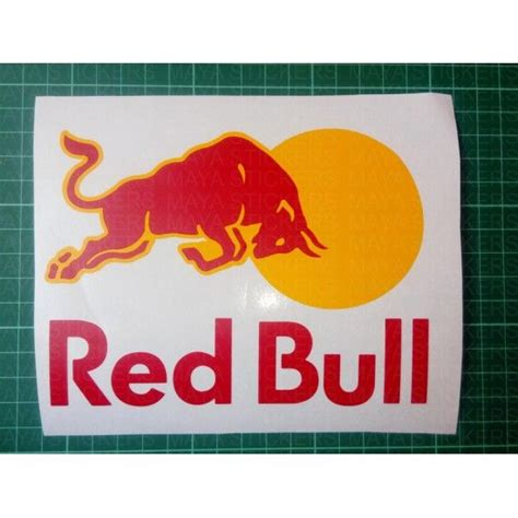 Fahrrad Aufkleber Red Bull by Redbull Logo Stickers For Cars And Bikes Car And Bike