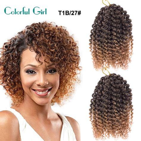 senegal twist crochet braid hair extension 8inch curly braid twist hair style pre braided