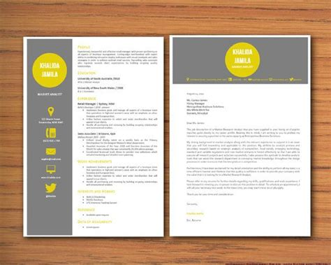 Modern Microsoft Word Resume And Cover Letter Template Khalida Jamila 01 Resume Templates Modern Letter Template
