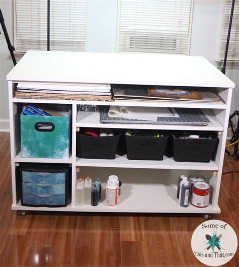 craft desk diy diy craft desk build some of this and that