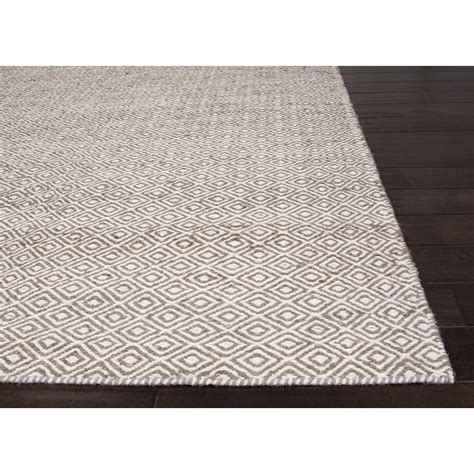 Hemp Area Rugs Jaipur Rugs Naturals Toneontone Pattern Taupe Gray Wool And Hemp Area Rugmethod