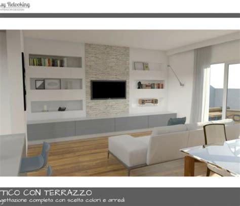 progettazione terrazzo progettazione attico con terrazzo a