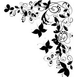 Wall Sticker Kids black and white butterflies pictures free download clip