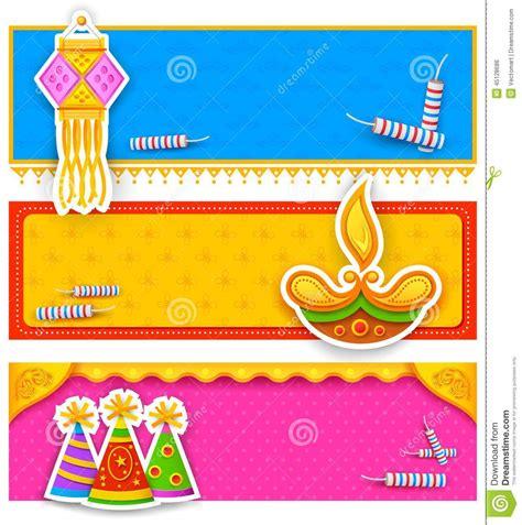 banner design deepavali diwali banner stock vector image 45128686