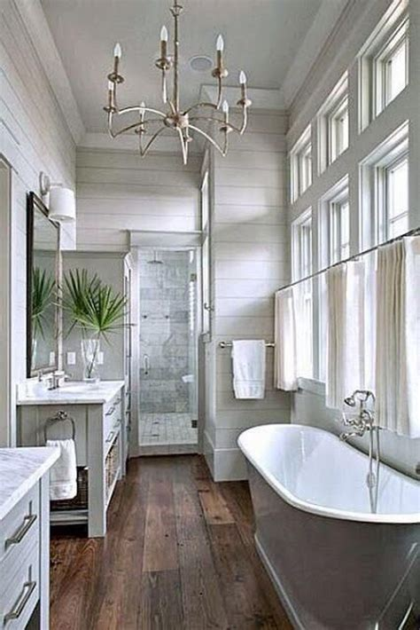 Farmhouse Bathrooms Ideas 20 Cozy And Beautiful Farmhouse Bathroom Ideas Home Design And Interior
