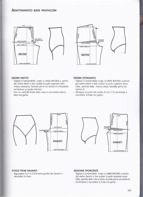 pattern making resources turbo cartamodello pantaloni bambino om17 pineglen