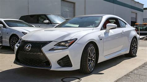 rcf lexus white lexus rc f in ultra white