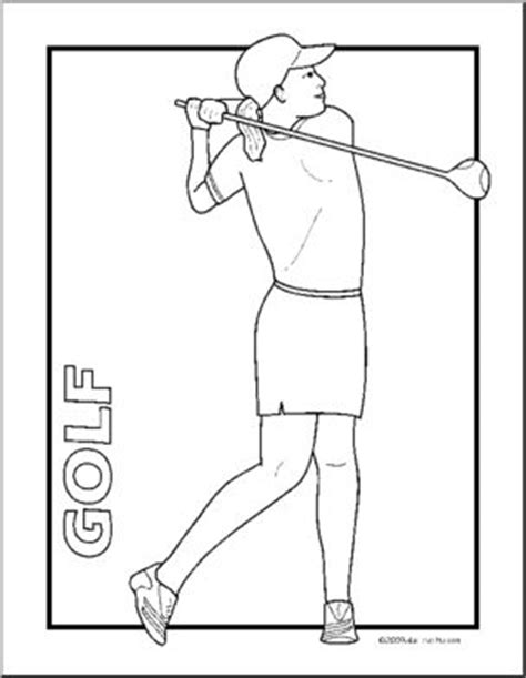abcteach coloring pages clip art golf coloring page i abcteach com abcteach