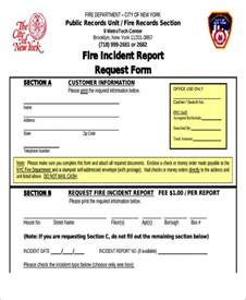 Fire Department Incident Report Template 46 incident report formats