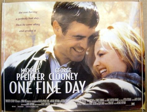 one fine day 1996 film izle one fine day 1996 cinema quad film poster michelle