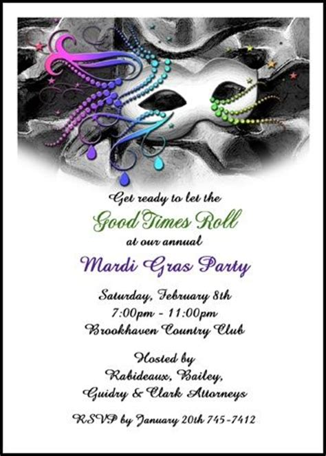 56 best images about mardi gras invitations on mardi gra cards and invitation wording