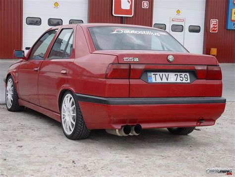 Alfa Romeo 155 by Tuning Alfa Romeo 155 187 Cartuning Best Car Tuning Photos