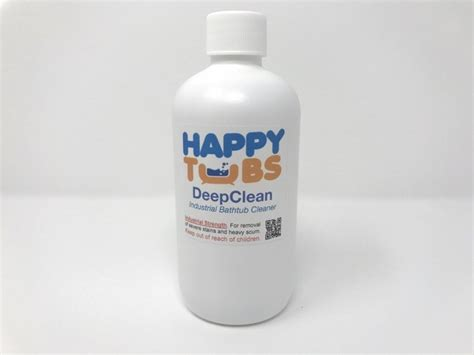 cleaner for acrylic bathtubs acrylic bathtub cleaner deepclean is an industrial