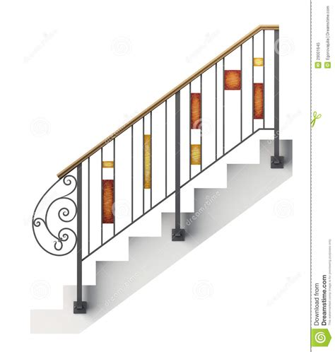 banister clips railing clipart clipground