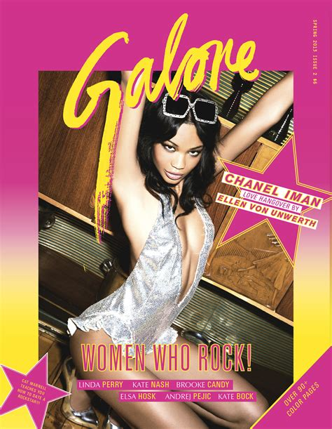 i am unashamed magazine vol 2 volume 2 books galore s who rock issue cover chanel iman