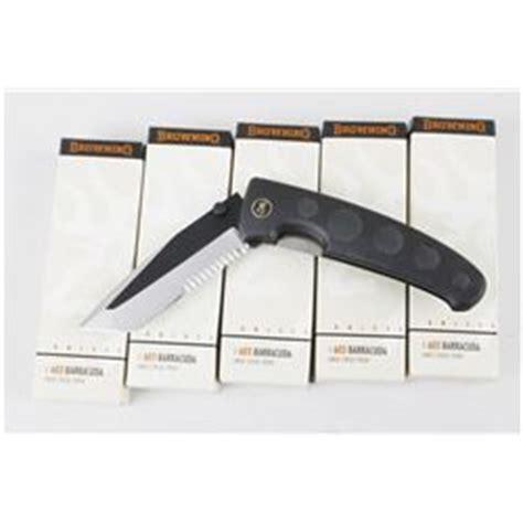 5 browning 603 barracuda knives