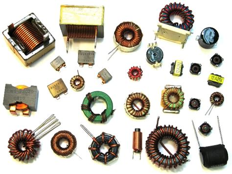 inductor and types radio world an inductor and different types