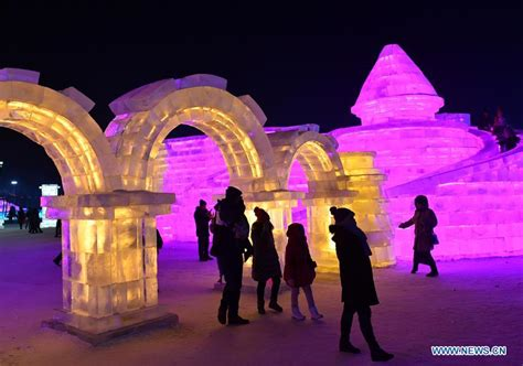 harbin snow and ice festival 2017 photos 2017 harbin ice and snow festival kicks off