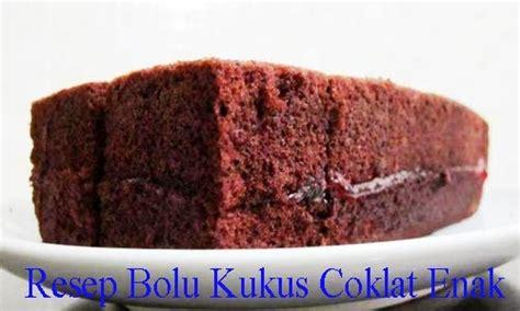 cara membuat kue bolu sederhana dan enak resep bolu kukus coklat enak cara hidup sehat