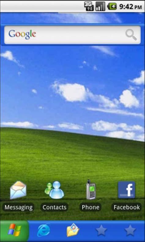 windows xp for android theme thursday windows xp android rundown where you find the rundown on android