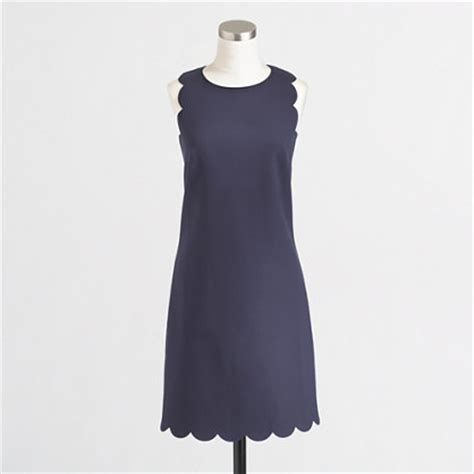 Use Jcrew Gift Card At Madewell - factory scalloped shift dress day dresses j crew factory