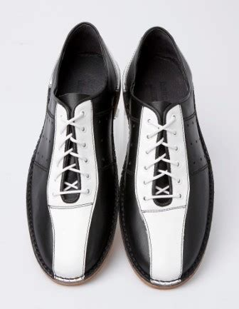 mod shoes bowling shoes black and white 04 mod shoes